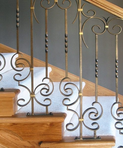 Collingwood Staircase ironwork